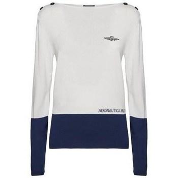 Odjeća Žene  Puloveri Aeronautica Militare 201MA1266DL404 Bijela
