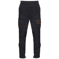 Odjeća Muškarci  Cargo hlače Aeronautica Militare PA1387CT149308 Crna