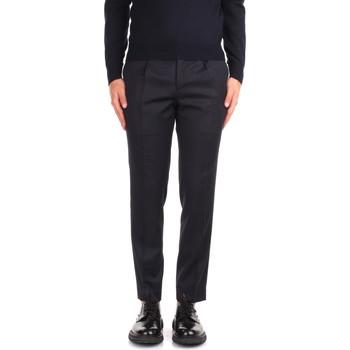 Odjeća Muškarci  Chino hlačei hlače mrkva kroja Incotex ZR450Z 10139 Blue