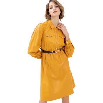 Odjeća Žene  Kratke haljine Fracomina FR21WD2007O42001 Žuta boja