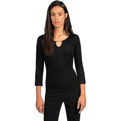 Odjeća Žene  Topovi i bluze Trussardi 56T00394-1T005339 Crno
