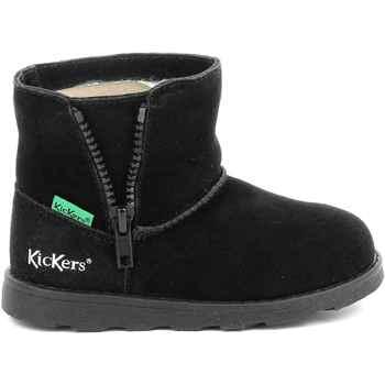 Obuća Djevojčica Čizme Kickers Chaussures enfant  Aldiza noir