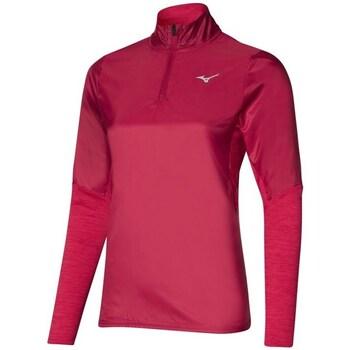Odjeća Žene  Gornji dijelovi trenirke Mizuno Hybrid HZ Red