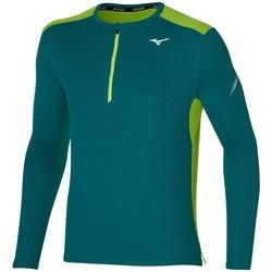 Odjeća Muškarci  Majice dugih rukava Mizuno Dryaeroflow HZ Zelena