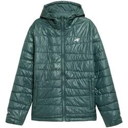 Odjeća Muškarci  Jakne 4F KUMP005 Zelena
