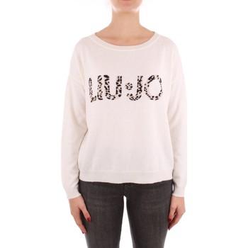 Odjeća Žene  Puloveri Liu Jo WF1496MA14G WHITE