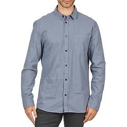 Odjeća Muškarci  Košulje dugih rukava Wesc YANIK Blue