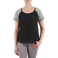 Odjeća Žene  Majice kratkih rukava Lollipops PADELINE TOP Crna / Siva