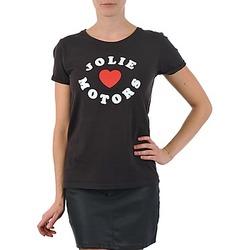Odjeća Žene  Majice kratkih rukava Kulte LOUISA JOLIEMOTOR 101954 NOIR Crna
