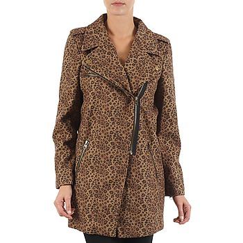 Odjeća Žene  Kaputi Brigitte Bardot BB43110 Smeđa