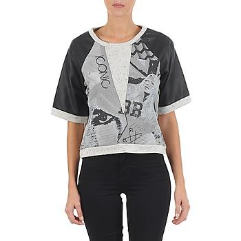 Odjeća Žene  Sportske majice Brigitte Bardot BB43025 Siva