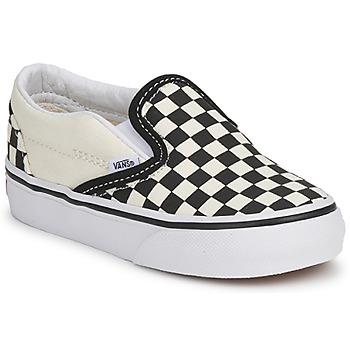 Obuća Djeca Slip-on cipele Vans CLASSIC SLIP ON KIDS Crna / Bijela