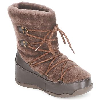Obuća Žene  Čizme za snijeg FitFlop SUPERBLIZZ Boja čokolade
