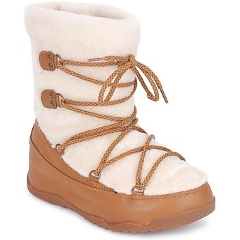 Obuća Žene  Čizme za snijeg FitFlop SUPERBLIZZ Bež / Smeđa