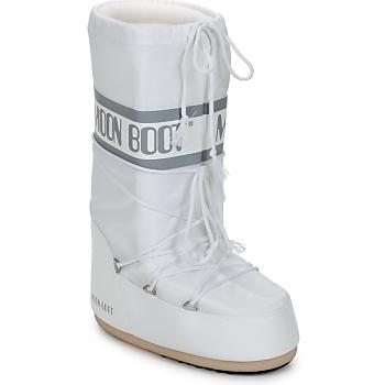 Obuća Žene  Čizme za snijeg Moon Boot CLASSIC Bijela / Srebrna
