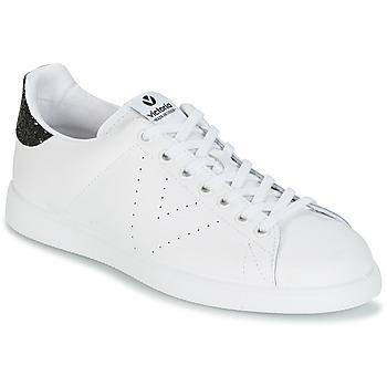 Obuća Žene  Niske tenisice Victoria DEPORTIVO BASKET PIEL Bijela / Crna