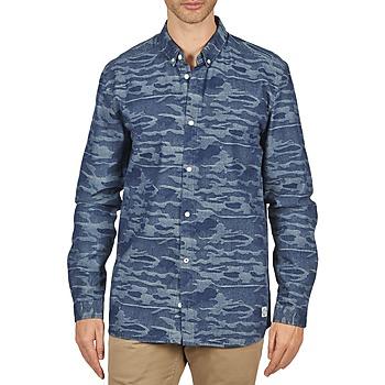 Odjeća Muškarci  Košulje dugih rukava Suit ROD Blue