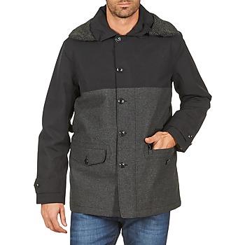 Odjeća Muškarci  Kaputi Aigle SHERPAFIELD Crna / Siva