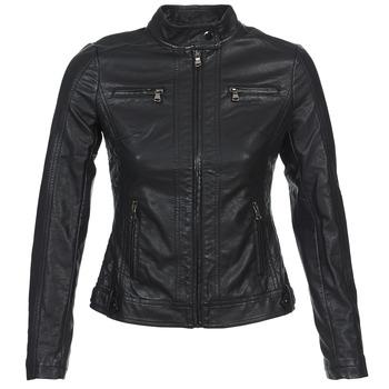 Odjeća Žene  Kožne i sintetičke jakne Moony Mood IDESCUNE Black