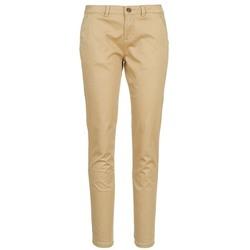 Odjeća Žene  Chino hlačei hlače mrkva kroja Casual Attitude DOMINO Béžová