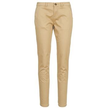 Odjeća Žene  Chino hlačei hlače mrkva kroja Casual Attitude DOMINO Bež
