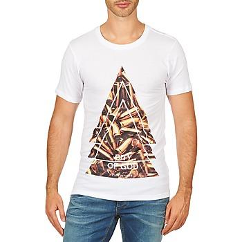 Odjeća Muškarci  Majice kratkih rukava Eleven Paris CITYGOD M MEN Bijela
