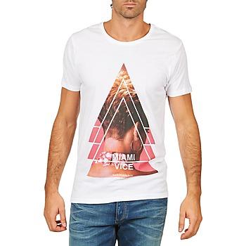 Odjeća Muškarci  Majice kratkih rukava Eleven Paris MIAMI M MEN Bijela