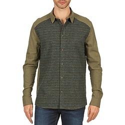 Odjeća Muškarci  Košulje dugih rukava Eleven Paris VRAPP MEN Kaki
