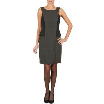 Odjeća Žene  Kratke haljine Manoukian PEPLUM Crna