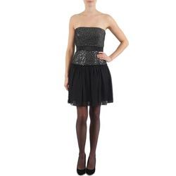 Odjeća Žene  Kratke haljine Manoukian JENNI Crna
