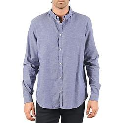 Odjeća Muškarci  Košulje dugih rukava Cheap Monday DAMON BD SHIRT Blue
