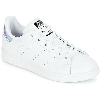 Obuća Djevojčica Niske tenisice adidas Originals STAN SMITH J Bijela