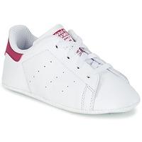 Obuća Djevojčica Niske tenisice adidas Originals STAN SMITH CRIB Bijela / Pink