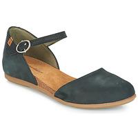 Obuća Žene  Balerinke i Mary Jane cipele El Naturalista STELLA Crna