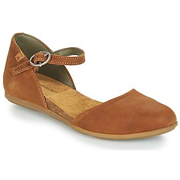 Obuća Žene  Balerinke i Mary Jane cipele El Naturalista STELLA Smeđa