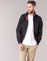 Odjeća Muškarci  Kratke jakne Harrington HARRINGTON PAULO Crna