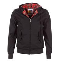 Odjeća Muškarci  Kratke jakne Harrington HARRINGTON HOODED Black