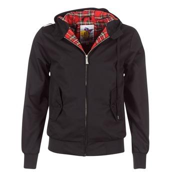 Odjeća Muškarci  Kratke jakne Harrington HARRINGTON HOODED Crna