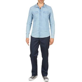 Odjeća Muškarci  Hlače s pet džepova Dickies WORK PANT Blue