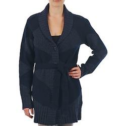 Odjeća Žene  Veste i kardigani Gant N.Y. DIAMOND SHAWL COLLAR CARDIGAN Blue