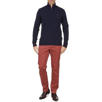 Odjeća Muškarci  Chino hlačei hlače mrkva kroja Hackett STRETCH TWILL CHINO Ružičasta