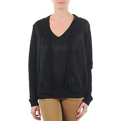 Odjeća Žene  Veste i kardigani Majestic 238 Crna