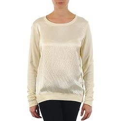 Odjeća Žene  Majice dugih rukava Majestic 237 Krem boja