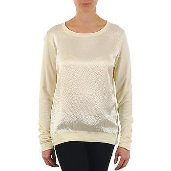 Odjeća Žene  Majice dugih rukava Majestic 237 Krémově bílá