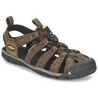 Obuća Muškarci  Sportske sandale Keen CLEARWATER CNX LEATHER Smeđa / Crna