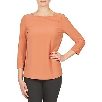 Odjeća Žene  Majice dugih rukava Color Block 3214723 Koraljna