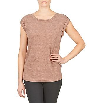 Odjeća Žene  Majice kratkih rukava Color Block 3203417 Old / Ružičasta / Raznobojno tkanje / Siva