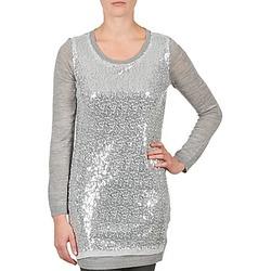 Odjeća Žene  Tunike La City PULL SEQUINS Siva