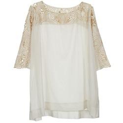 Odjeća Žene  Topovi i bluze Stella Forest ATU030 Bež