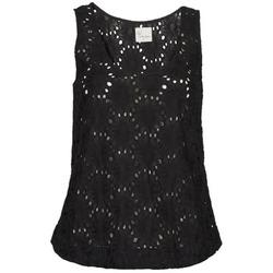Odjeća Žene  Majice s naramenicama i majice bez rukava Stella Forest ADE007 Crna
